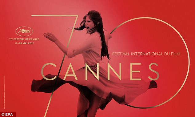 The Cannes Film Festival's official poster for its 70th annual event taking place this year