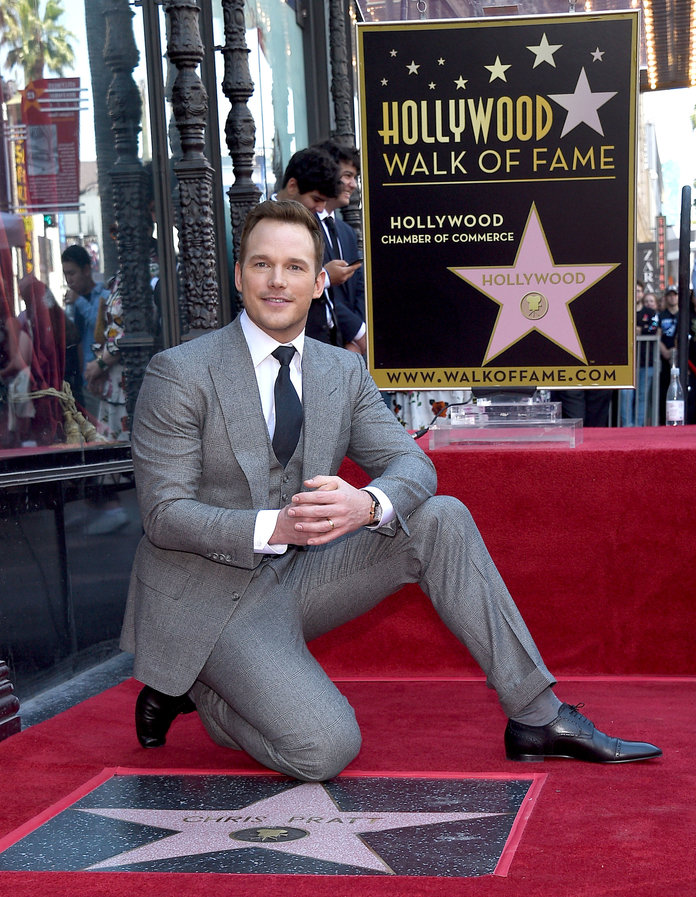 Chris Pratt Walk of Fame Ceremony